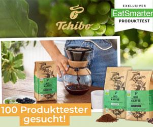 Dein gratis Produkttest für den Bio-Kaffee von Tchibo