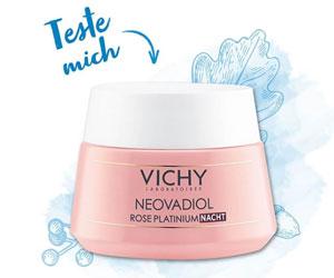 Teste die Nachtcreme Neovadiol von Vichy