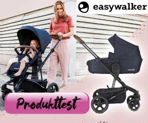 Suche: 3 Testfamilien für den Harvey² Premium Kinderwagen