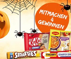 Ein spuktakuläres Halloween-Gewinnspiel ist da!