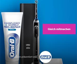 Gewinne die intelligenteste Zahnbürste von Oral-B