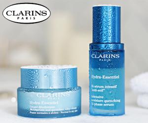 Mach mit und teste ein Hautpflegeset von Clarins