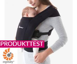 Neuer Produkttest: Babytrage Embrace von Ergobaby