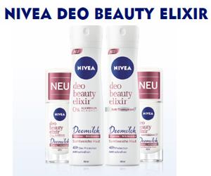 Sei NIVEA Botschafterin und erhalte das neue Deo Beauty Elixir