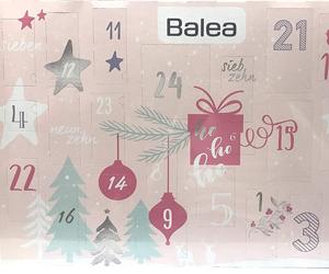 Erhalte einen gratis Adventskalender von Balea