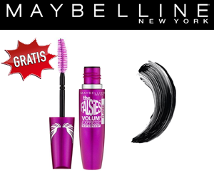 Teste die neue Mascara von MAYBELLINE