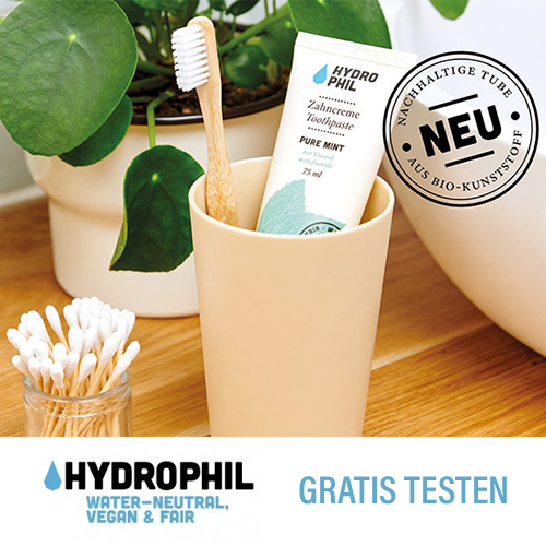 Umweltfreundliche Produkte von Hydrophil