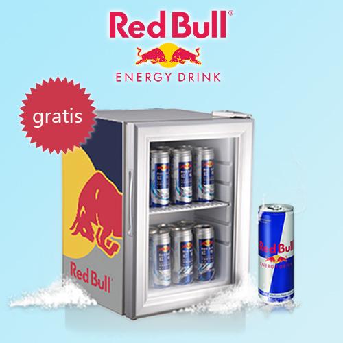Red Bull Mini-Kühlschrank