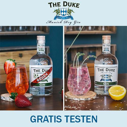 THE DUKE Gin Drinks