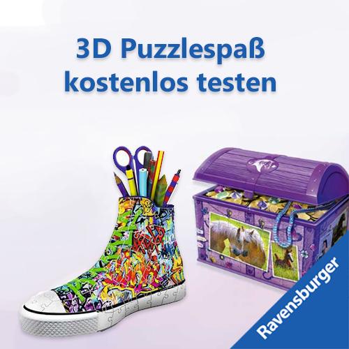 3D Puzzle Testaktion