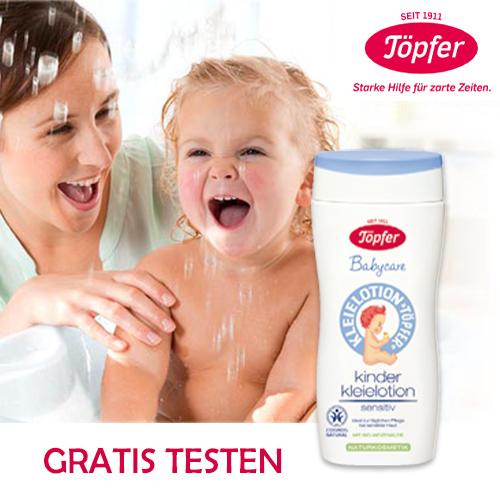 Baby Hautpflege von Töpfer