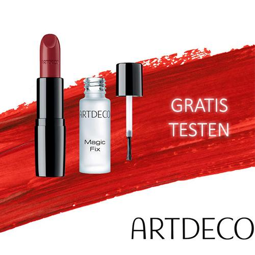 Artdeco Lippenstift und Magic Fix