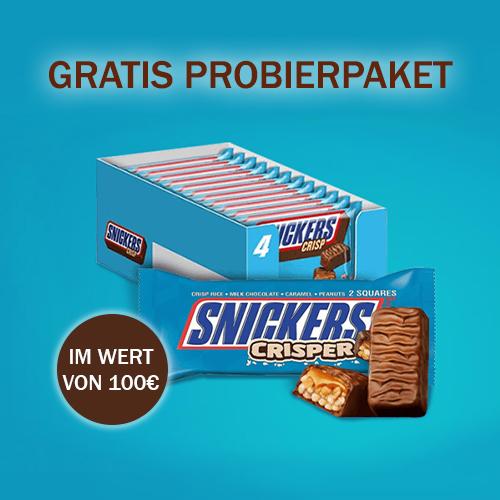 Snickers Crisp Probierpaket