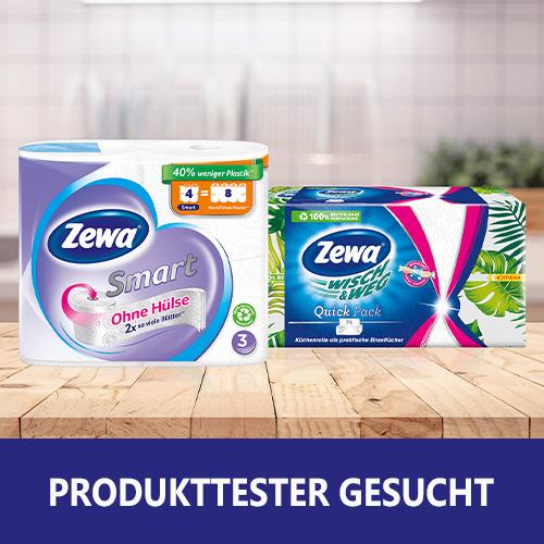 Zewa Smart und Wisch & Weg Küchentücher